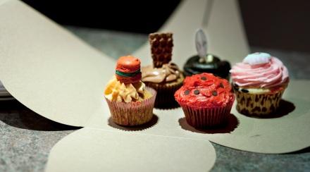 Macaron Cupcake smaller