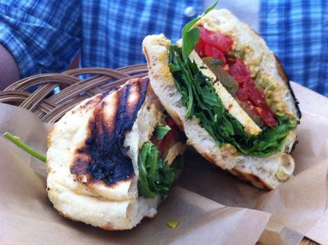 sandwich @ olive + gourmando RET