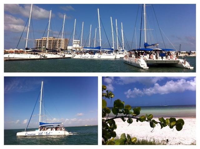 Boat & Island Triptych_Cuba