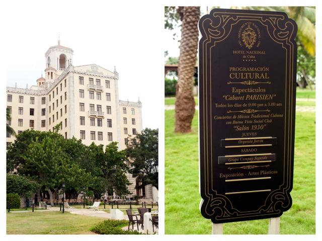 Hotel Nacional de Cuba Diptych