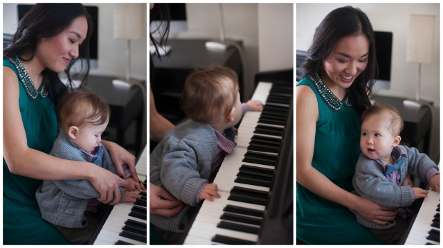 Amelia Piano Triptych