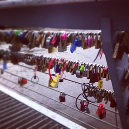 Locks on Bridge